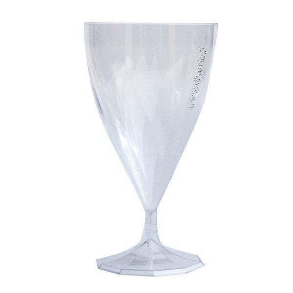 verre eau et verre vin transparent vaisselle jetable. Black Bedroom Furniture Sets. Home Design Ideas