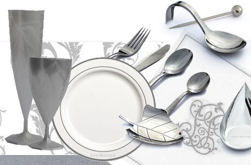Vaisselle jetable pour Mariage